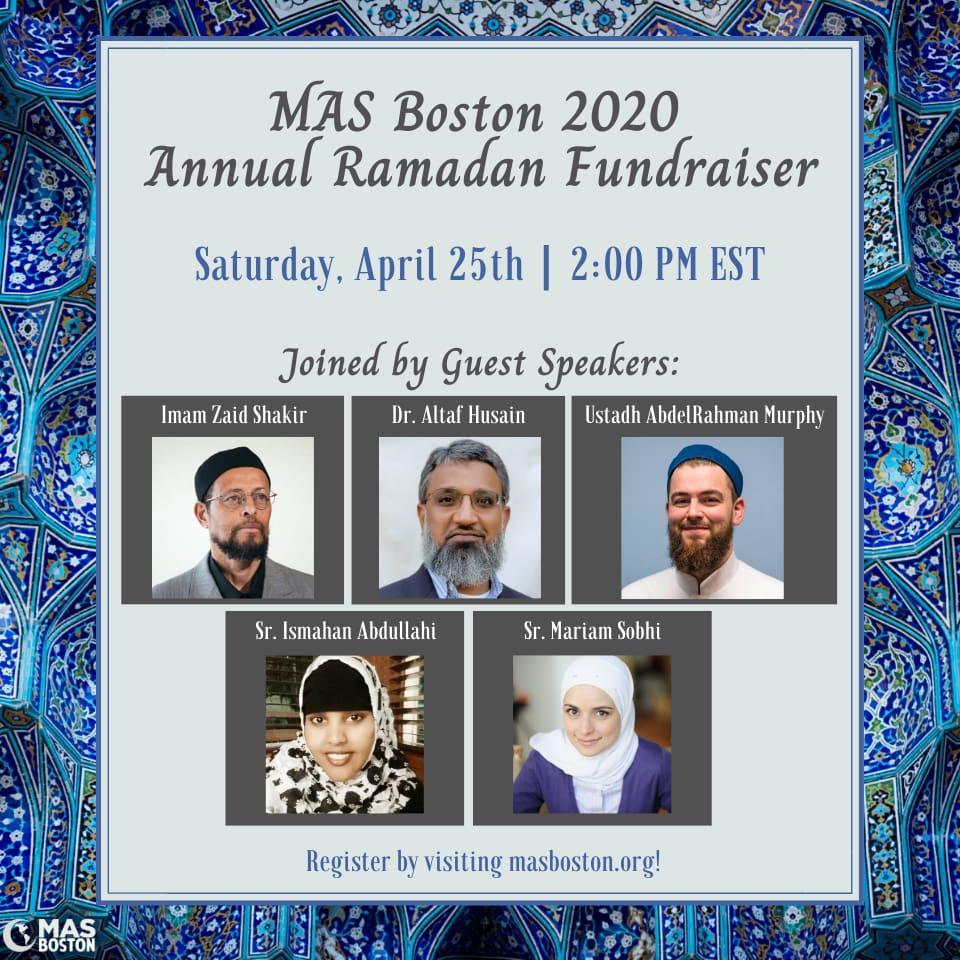 MAS BOSTON 2020 Fundraiser