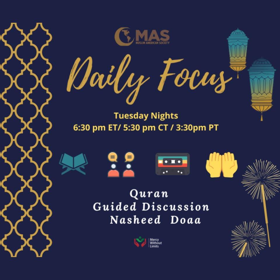 MAS Daily Focus